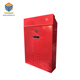 Yoobox brand Red Galvanized steel powder coating post box