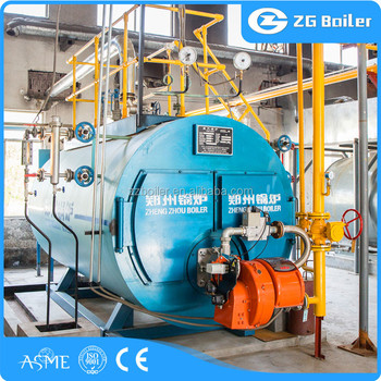100bhp 200hp 10ton Horizontal Steam Boiler With Small Size - Buy ...