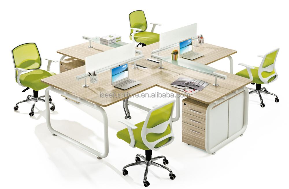 Industrial abrir oficina de trabajo muebles para 6 for Muebles de oficina para 4 personas