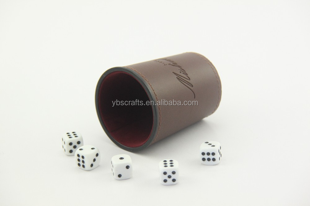 LeatheretteAnd Vinyl Dice Cups  Wooden Dice Trays Buy Leather - Vinyl dice cup
