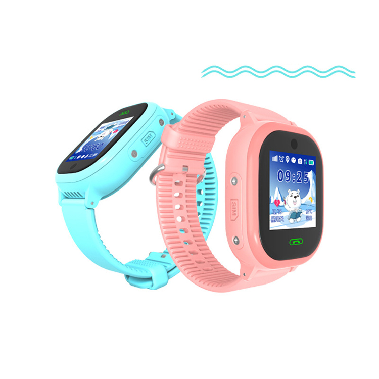 Gift Smarcent IP67 Waterproof Children GPS Swim phone smart watch SOS Call Location / touch screen kids watch
