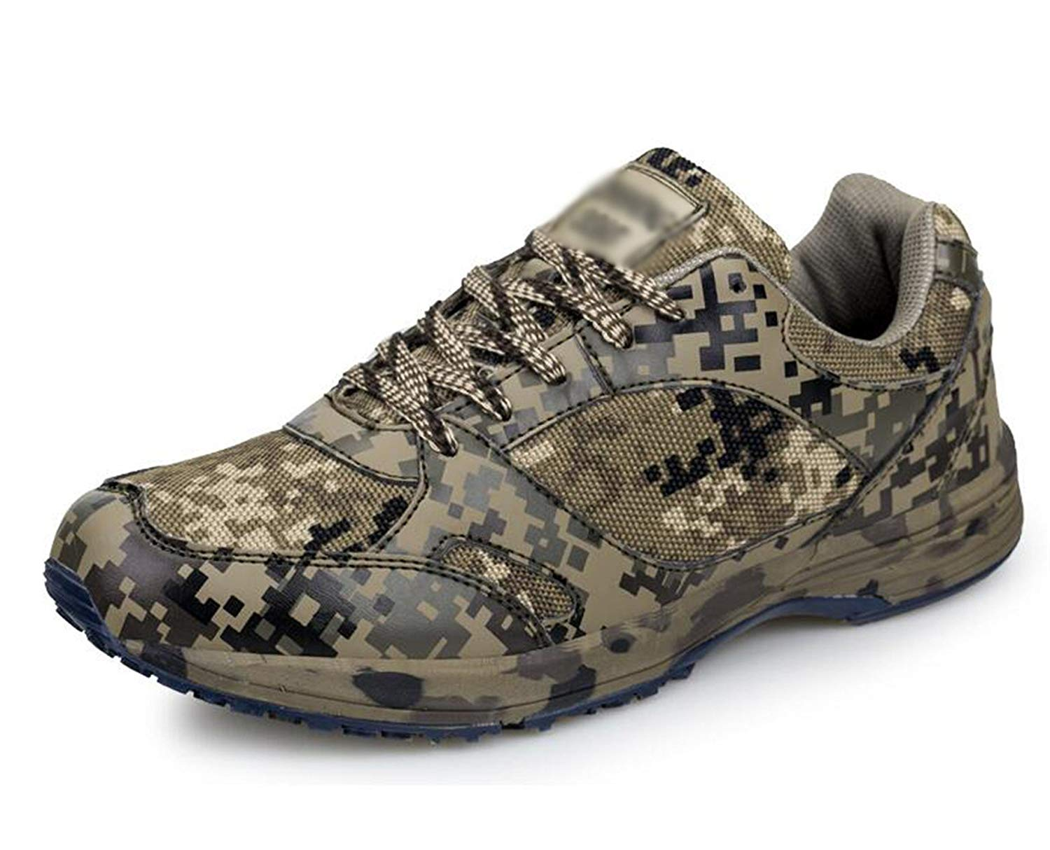 Smakke Men's Hiking Shoes Outdoor Sports Camouflage Army Climbing Shoes Combat Sports Shoes Camping Training Sneakers