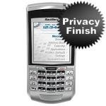 Privacy screen protector for blackberry 7100