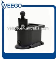 High Quality/Durable Black Plastic golf ball washer for Most Golf Carts