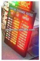 Indoor IR remote control 1.0'' Digital Red Bank Foreign exchange rates Display