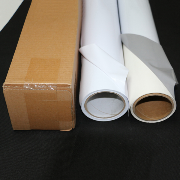 Premium Removable Self Adhesive Waterproof Vinyl Rolls Clear Inkjet Printable Pvc Film Sheet Flexibility Vinyl Paper Roll Buy Self Adhesive