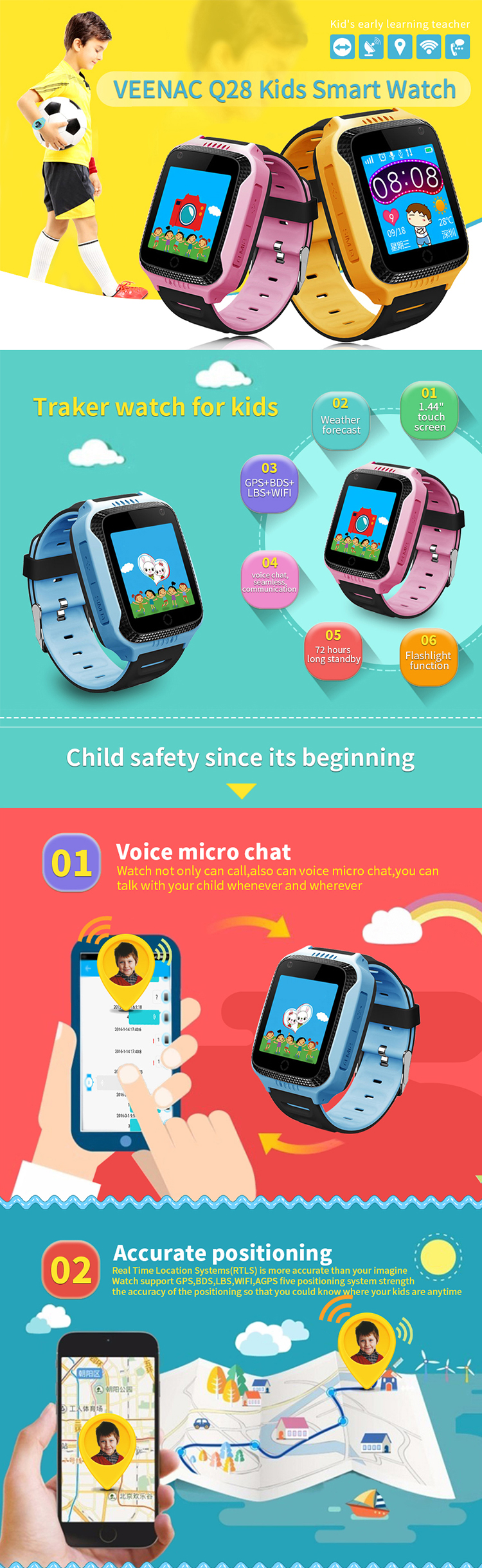 2018 Best Christmas gifts Children smart watch phone with GPS LBS tracking  watch SOS function kids smartwatch, View 2018 Christmas gifts, Karenm