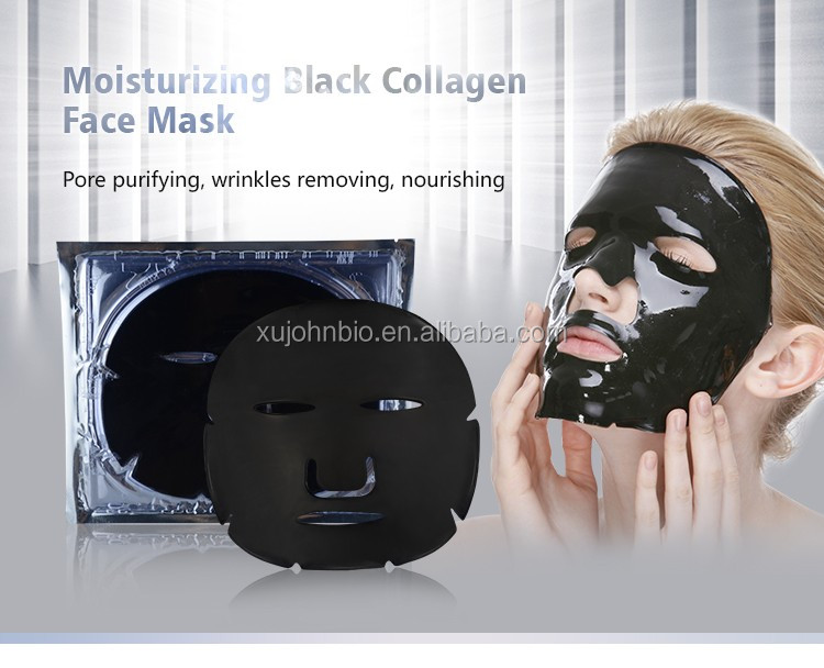 Magic Beauty Supply Anti wrinkle Nourishing Black Collagen Face Mask