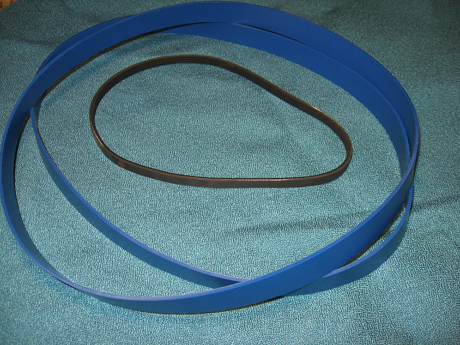 BLUE MAX HEAVY DUTY URETHANE BAND SAW TIRES SET AND DRIVE BELT FOR RIKON 10-320