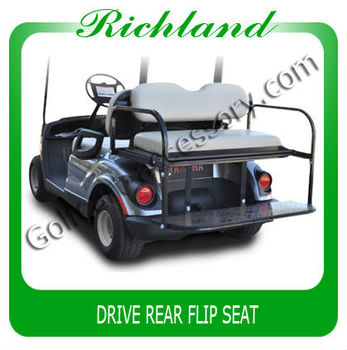 Economic Rear Seat Kit For Yamaha Drive Flip Flop Used Golf Cart