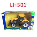 Alloy engineering car tractor toy bulldozer model farm vehicle belt boy toy car model children s