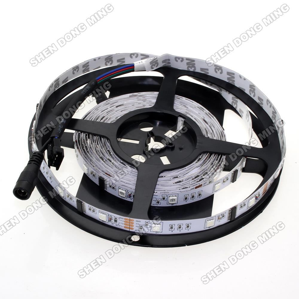 HOT!!Free Shipping LPD6803 Led Pixel Strip 5m RGB 10IC 30Leds Full Colors Digital No Waterproof LED LPD6803 Strip