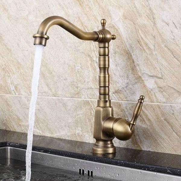 nuevo diseño de bronce antiguo cuarto de baño de lujo ...