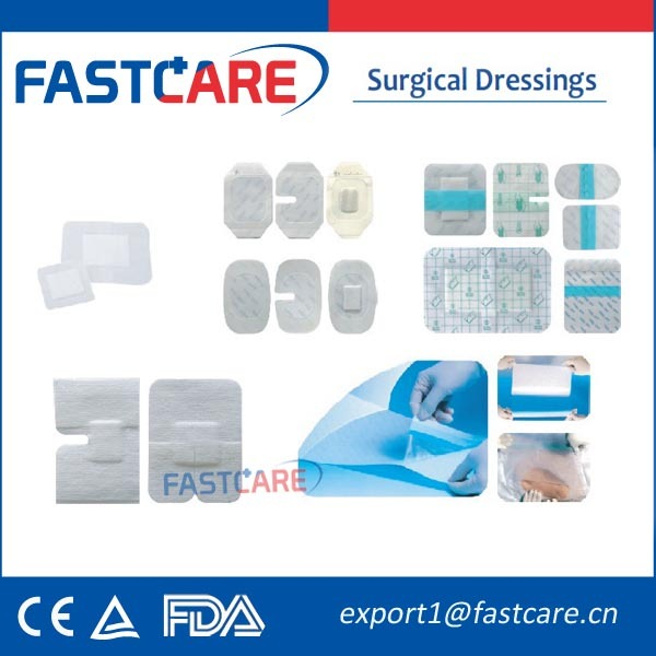 CE Approval Sterile Consumable Supplies Medical Wound Care Dressing