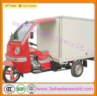 Chongqing Manufactor 200cc/300cc Trike Motorcycle/trike gas motor scooters/ scooter cargo box For Sale
