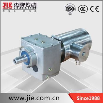 JRESR series stainless steel gearmotors