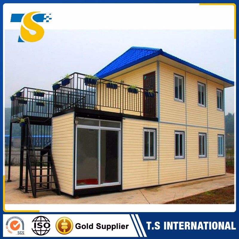 China Prefabricated flat pack 1 min fast install folding prefab container homes