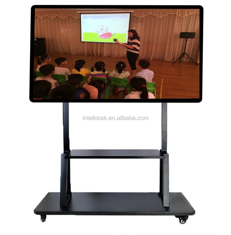 Last news! 75 inch LCD all in one computer online digital whiteboard display for education