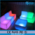 remote control battery operated illuminated light up bar furniture decorative led sofa chairs