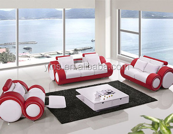 Hot Selling 2 Seat Red Leather Sectional Recliner Sofa - Buy ...
