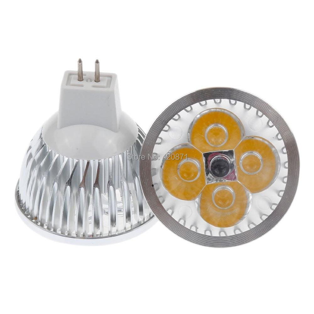 4x1 mr16 led spotlight bulb 12v gu5 3 warm cool white energy saving led bulb lamp replace 50w. Black Bedroom Furniture Sets. Home Design Ideas