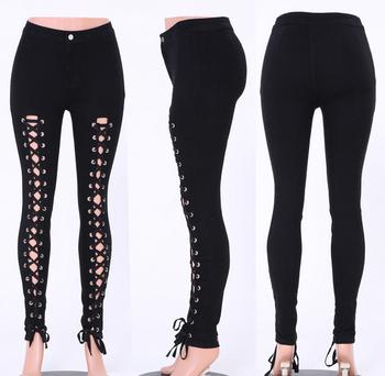 54d3f3b85 WHOLESALE butt lift high waist denim lace up china jeans al por mayor