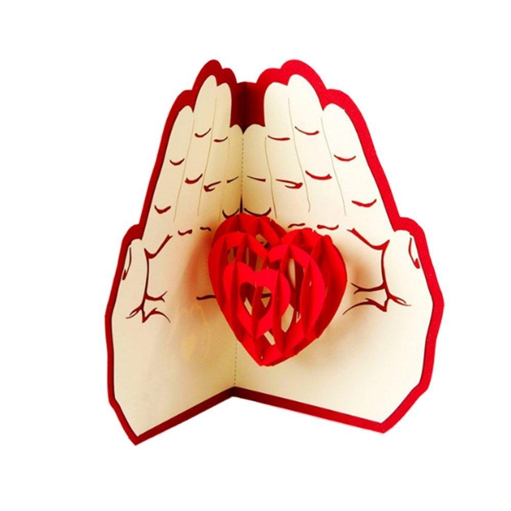 День святого валентина 3д открытку, днем россии