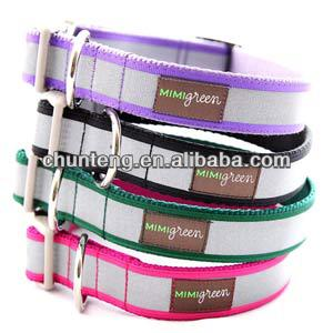 pet collar and leash manufacturer/reflective tape dog collar