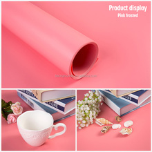 Pink Photography Equipment Photo studio Background ,plastic backdrop solid pvc Backdrop Board