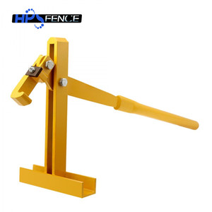 High standard electric fencing steel post lifter for fence post