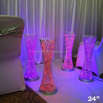 24 Tall Led Lights Spiral Tower Centerpiece For Wedding Party Home