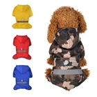 waterproof wholesale pet raincoat For Cats large dogs