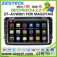 car stereo for VW golf 5 car stereo golf 6 Polo skoda touran caddy CC tiguan with dvd gps 3G ZT-AVW801