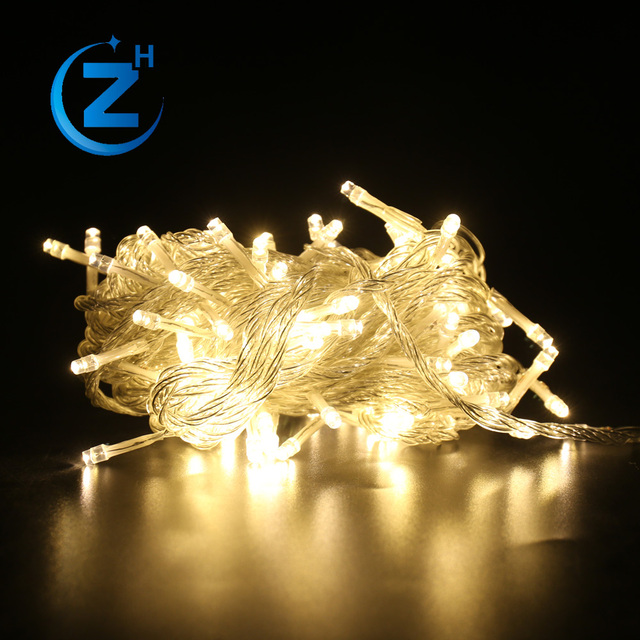 Custom Logo Artificial Indoor Wedding Party Festival Hanging Waterproof Rgb String Flash Unique White Outdoor Light