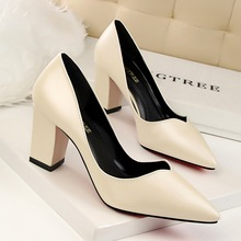 The bulk wholesale shoes high heels pointed toes high heel women pump shoes