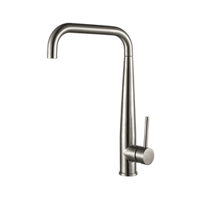 Hot sell Single lever long Neck Kitchen Sink Faucet Stainless steel Kitchen Mixer Tap