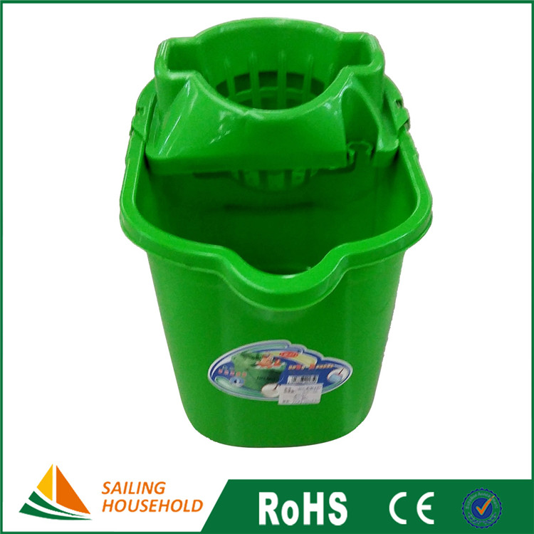 Wholesale small mop bucket with wringer, Commercial Mop Buckets, plastic mop bucket wringer