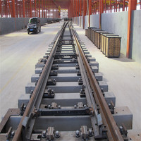 2016 new product China supplier concrete sleepers rail turnout price