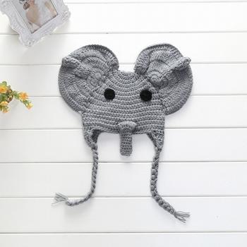 Amazon.com: Crochet Baby Elephant Hat and Diaper Cover Set - Baby ... | 350x350