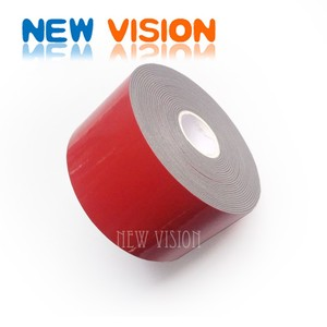 Double sided acrylic foam tape for car accessories/lift reinforced bar adhesion