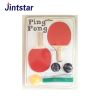 Professional mini table tennis racket set toy with net and balls for kids