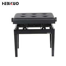 B-211 Hebikuo Hot Selling Iron Lederen Musical Piano Kruk Piano Bench Verstelbare