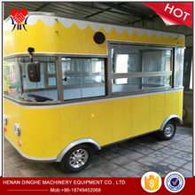 CE snack pizza coffee vending mobile kitchen container, mobile kitchen van, kiosk cart