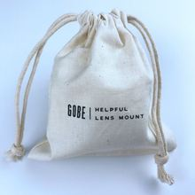 cotton canvas drawstring bag / blank canvas backpack