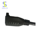 JT-3Z Flat And Round Pin FeMale Power Cord Plug