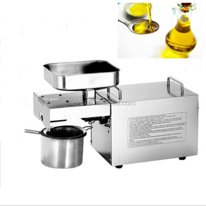 easy operate full-automatic home use oil press machines