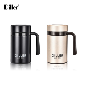 Vacuum Lid Double Mug wholesale Insulated Travel thermos Wall Coffee Mug Steel Mug Screw Thermos Stainless Wholesale With Buy R54AjL3