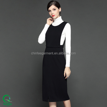 Latest Fashion Clothes Women Winter Dress