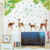 Elk tree art wall sticker for kids room decoration living room wall decals removable waterproof murals