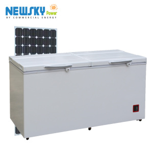 90L-433L 2017 12v 24v solar refrigerator fridge freezer solar powered deep freezer